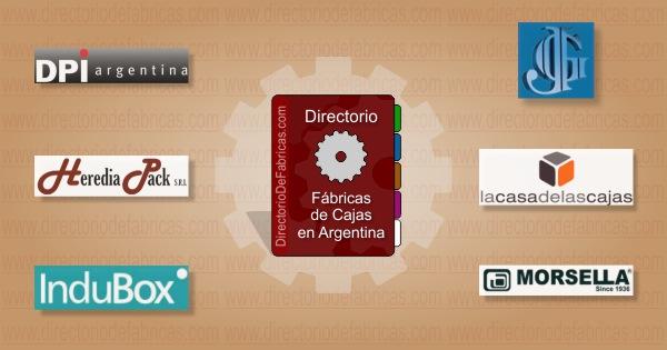 Fábricas de Cajas en Argentina