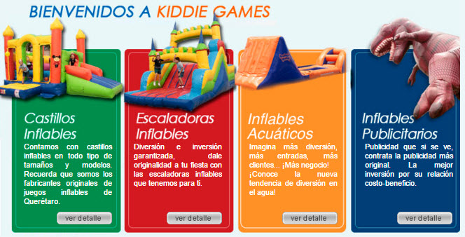 Fabrica De Inflables S A De C V Fabricante De Inflables En Mexico